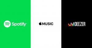 spotify-apple-deezer muziek uploaden